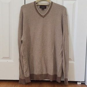 Men's Tasso Elba V-Neck Sweater